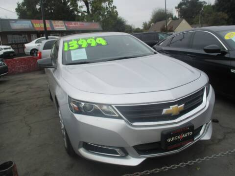 2017 Chevrolet Impala for sale at Quick Auto Sales in Modesto CA