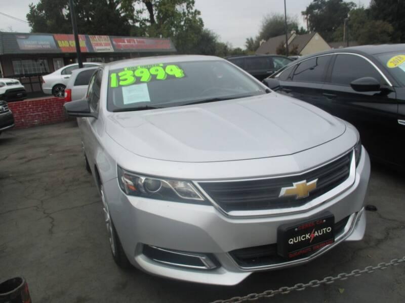 2017 Chevrolet Impala for sale at Quick Auto Sales in Modesto CA