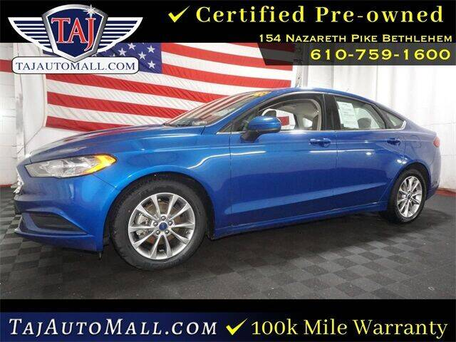 2017 Ford Fusion for sale at Taj Auto Mall in Bethlehem PA