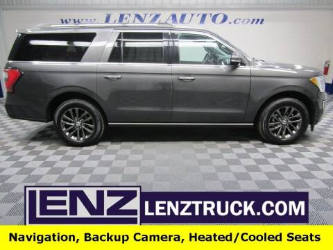 2020 Ford Expedition MAX for sale at LENZ TRUCK CENTER in Fond Du Lac WI