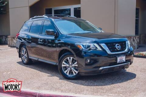2018 Nissan Pathfinder for sale at Mcandrew Motors in Arlington TX