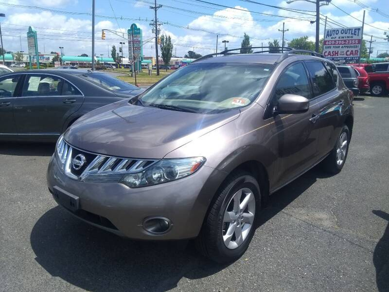 2010 Nissan Murano for sale at Wilson Investments LLC in Ewing NJ