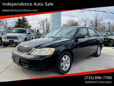 2002 Toyota Avalon for sale at Independence Auto Sale in Bordentown NJ