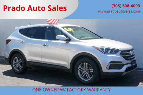 2018 Hyundai Santa Fe Sport for sale at Prado Auto Sales in Miami FL