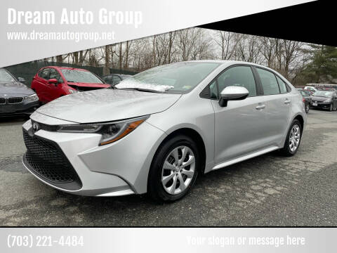 2021 Toyota Corolla for sale at Dream Auto Group in Dumfries VA