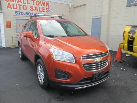2015 Chevrolet Trax for sale at Small Town Auto Sales in Hazleton PA