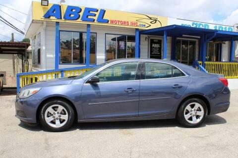 2015 Chevrolet Malibu for sale at Abel Motors, Inc. in Conroe TX