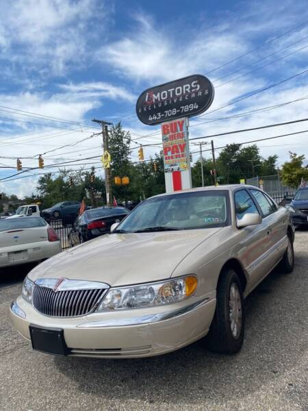2000 Lincoln Town Car for sale at i3Motors in Baltimore MD