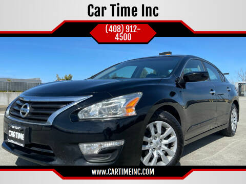 2015 Nissan Altima for sale at Car Time Inc in San Jose CA