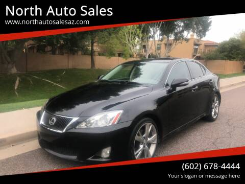 2009 Lexus IS 250 for sale at North Auto Sales in Phoenix AZ