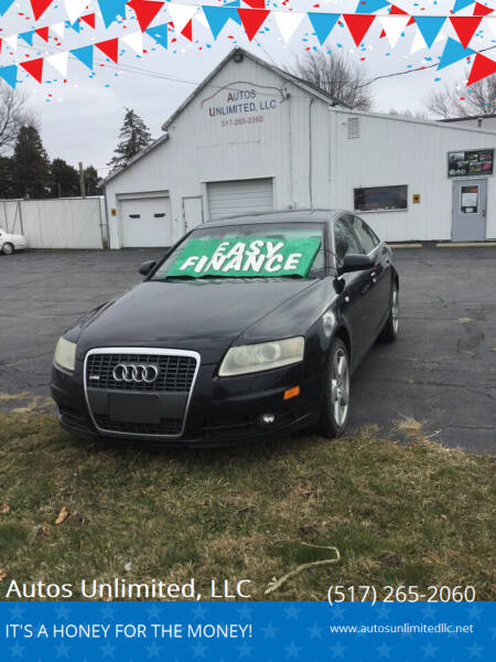 2008 Audi A6 for sale at Autos Unlimited, LLC in Adrian MI