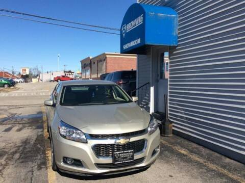 2016 Chevrolet Malibu Limited for sale at Browning Chevrolet in Eminence KY