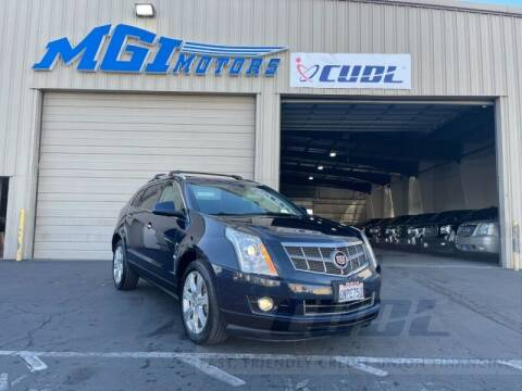 2011 Cadillac SRX for sale at MGI Motors in Sacramento CA