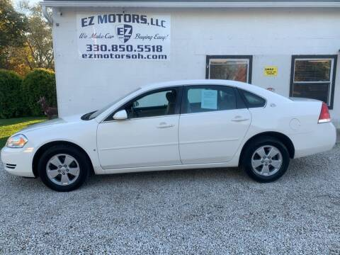 2007 Chevrolet Impala for sale at EZ Motors in Deerfield OH