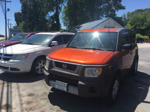 2003 Honda Element for sale at Tri-County Auto Sales in Pendleton SC