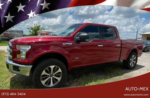 2015 Ford F-150 for sale at AUTO-MEX in Caddo Mills TX