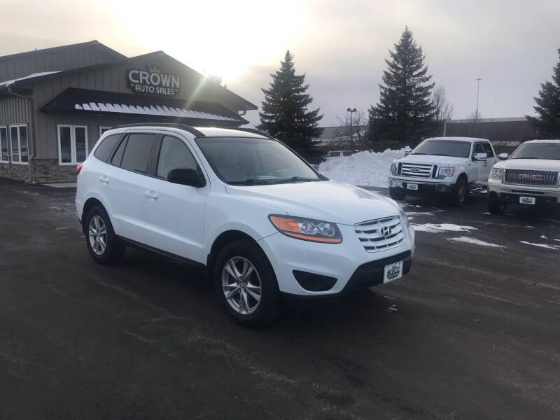 2010 Hyundai Santa Fe for sale at Crown Motor Inc in Grand Forks ND