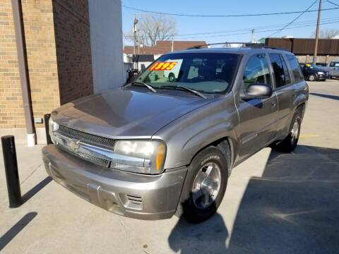 2002 Chevrolet TrailBlazer for sale at Madison Motor Sales in Madison Heights MI