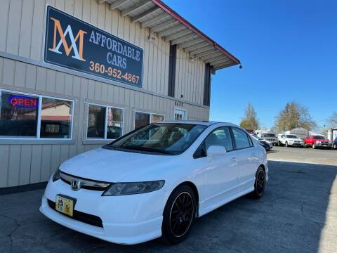 2006 Honda Civic for sale at M & A Affordable Cars in Vancouver WA