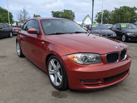 2009 BMW 1 Series for sale at Convoy Motors LLC in National City CA