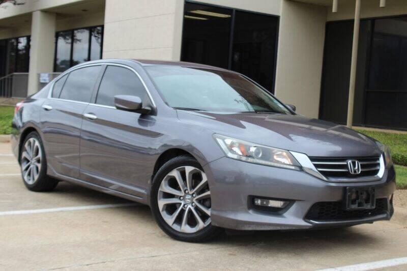 2014 Honda Accord for sale at DFW Universal Auto in Dallas TX