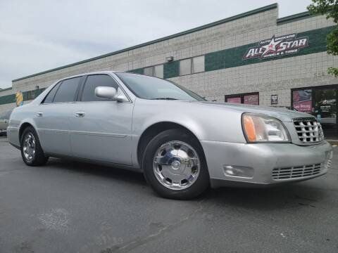 2000 Cadillac DeVille for sale at All-Star Auto Brokers in Layton UT