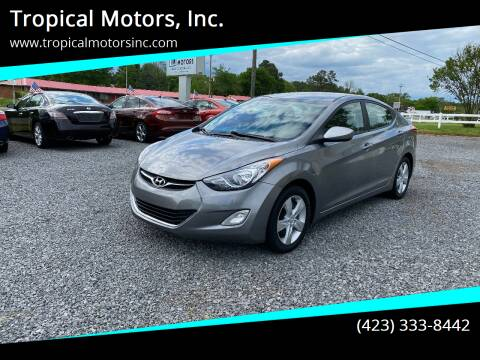 2012 Hyundai Elantra for sale at Tropical Motors, Inc. in Riceville TN