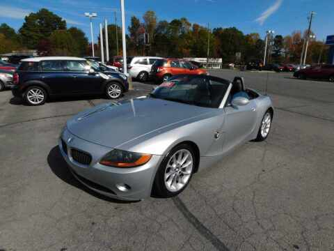 2003 BMW Z4 for sale at Paniagua Auto Mall in Dalton GA