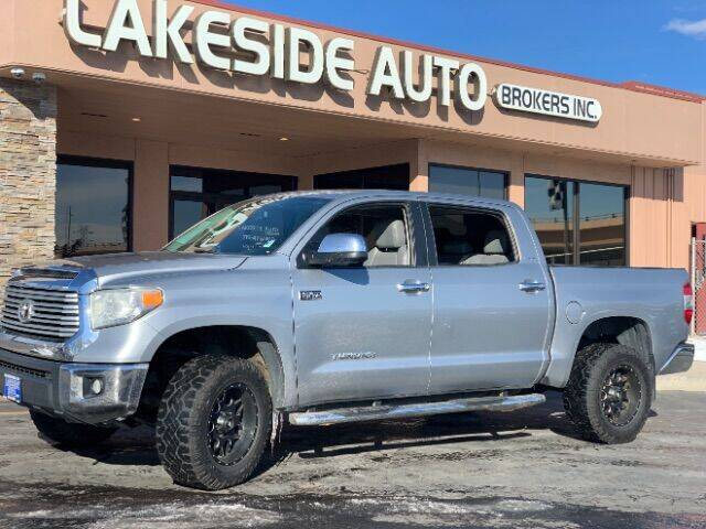 2014 Toyota Tundra for sale at Lakeside Auto Brokers Inc. in Colorado Springs CO