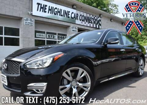 2018 Infiniti Q70L for sale at The Highline Car Connection in Waterbury CT