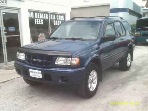 2002 Isuzu Rodeo for sale at ROYAL MOTOR SALES LLC in Dover FL