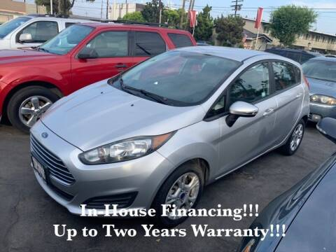 2015 Ford Fiesta for sale at Sidney Auto Sales in Downey CA
