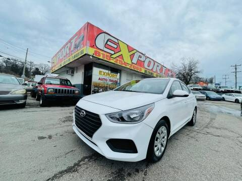 2020 Hyundai Accent for sale at EXPORT AUTO SALES, INC. in Nashville TN
