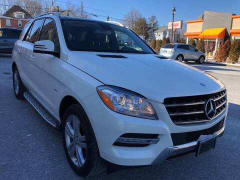2012 Mercedes-Benz M-Class for sale at USA Auto Sales in Kensington CT