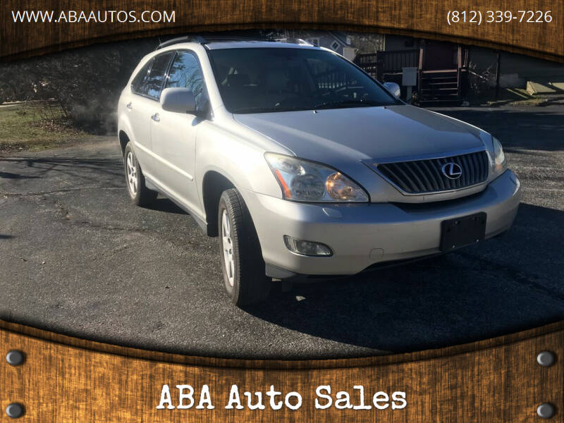 2008 Lexus RX 350 for sale at ABA Auto Sales in Bloomington IN
