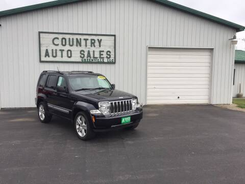2011 Jeep Liberty for sale at COUNTRY AUTO SALES LLC in Greenville OH
