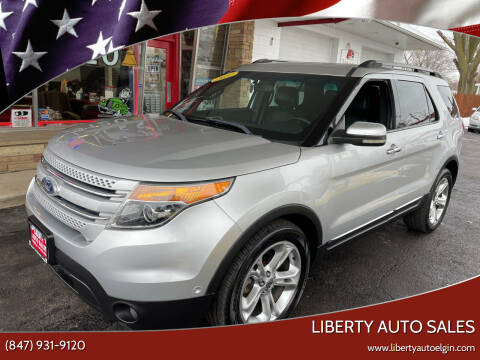 2011 Ford Explorer for sale at Liberty Auto Sales in Elgin IL