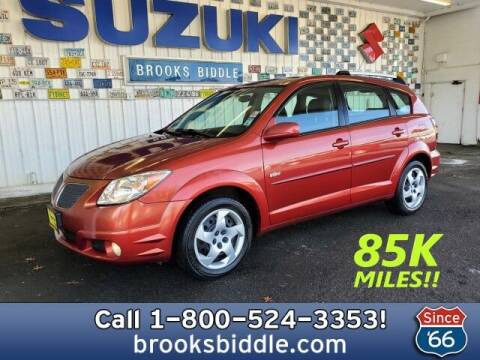 2005 Pontiac Vibe for sale at BROOKS BIDDLE AUTOMOTIVE in Bothell WA