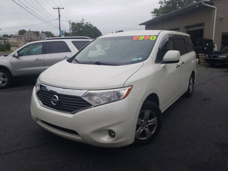 2014 Nissan Quest for sale at Roy's Auto Sales in Harrisburg PA