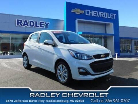 2021 Chevrolet Spark for sale at Radley Cadillac in Fredericksburg VA