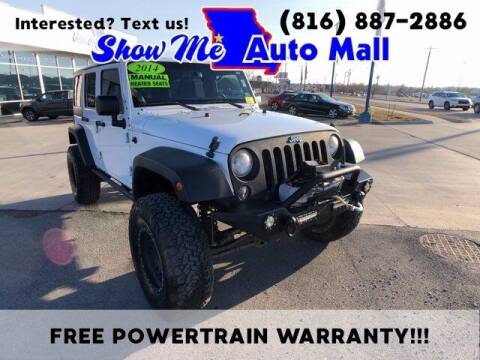 2014 Jeep Wrangler Unlimited for sale at Show Me Auto Mall in Harrisonville MO