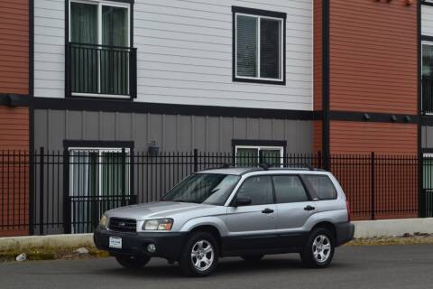 2003 Subaru Forester for sale at Skyline Motors Auto Sales in Tacoma WA
