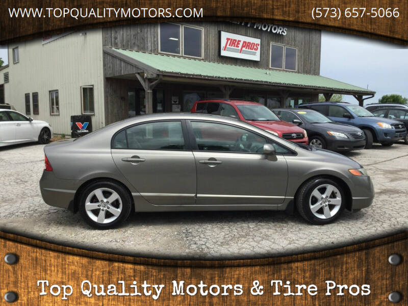 2006 Honda Civic for sale at Top Quality Motors & Tire Pros in Ashland MO