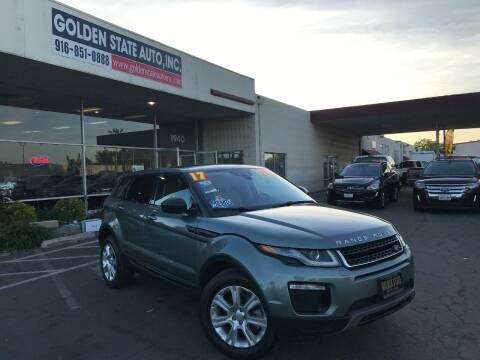 2017 Land Rover Range Rover Evoque for sale at Golden State Auto Inc. in Rancho Cordova CA