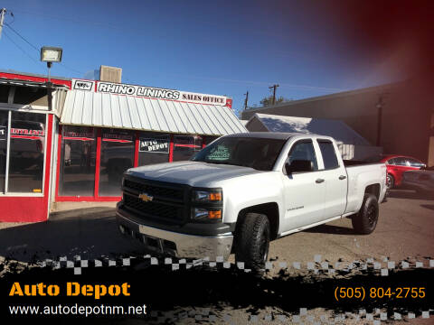 2014 Chevrolet Silverado 1500 for sale at Auto Depot in Albuquerque NM