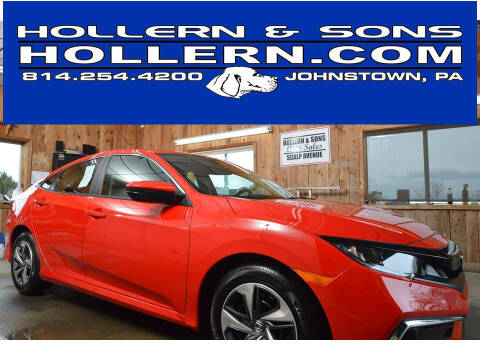 2021 Honda Civic for sale at Hollern & Sons Auto Sales in Johnstown PA