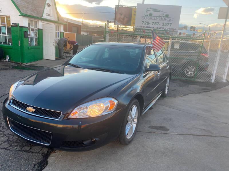 2016 Chevrolet Impala Limited for sale at GO GREEN MOTORS in Denver CO
