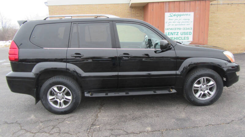 2007 Lexus GX 470 for sale at LENTZ USED VEHICLES INC in Waldo WI