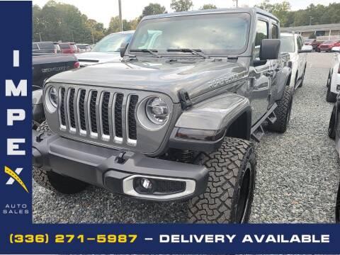 2020 Jeep Gladiator for sale at Impex Auto Sales in Greensboro NC