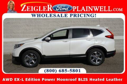 2018 Honda CR-V for sale at Zeigler Ford of Plainwell- Jeff Bishop in Plainwell MI